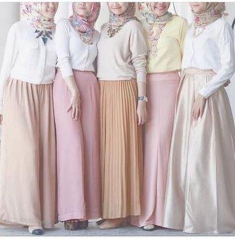 Tips Memilih Model Baju Muslim Wanita