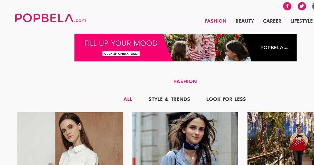 Popbela ,Website Fashion Hits dan Kekinian